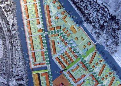 Vierter Wasserstadt-Entwurf