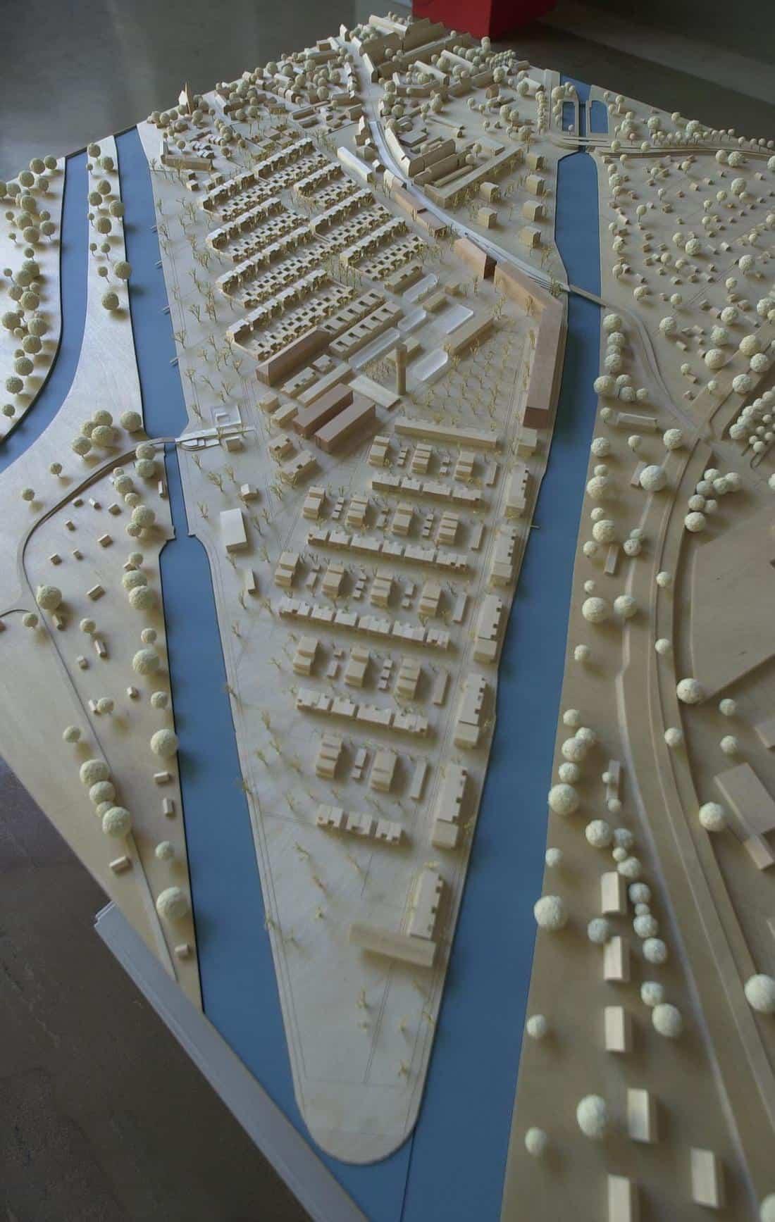 Gewinner-Modell der Wasserstadt