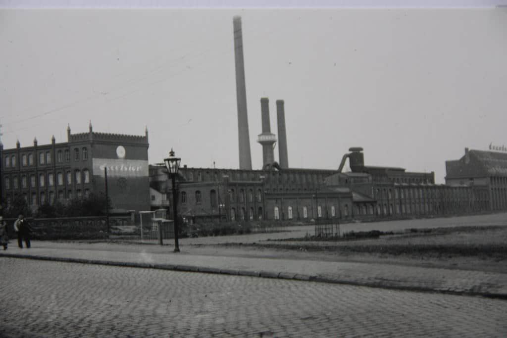 Das Gelände der Gummiwerke Excelsior