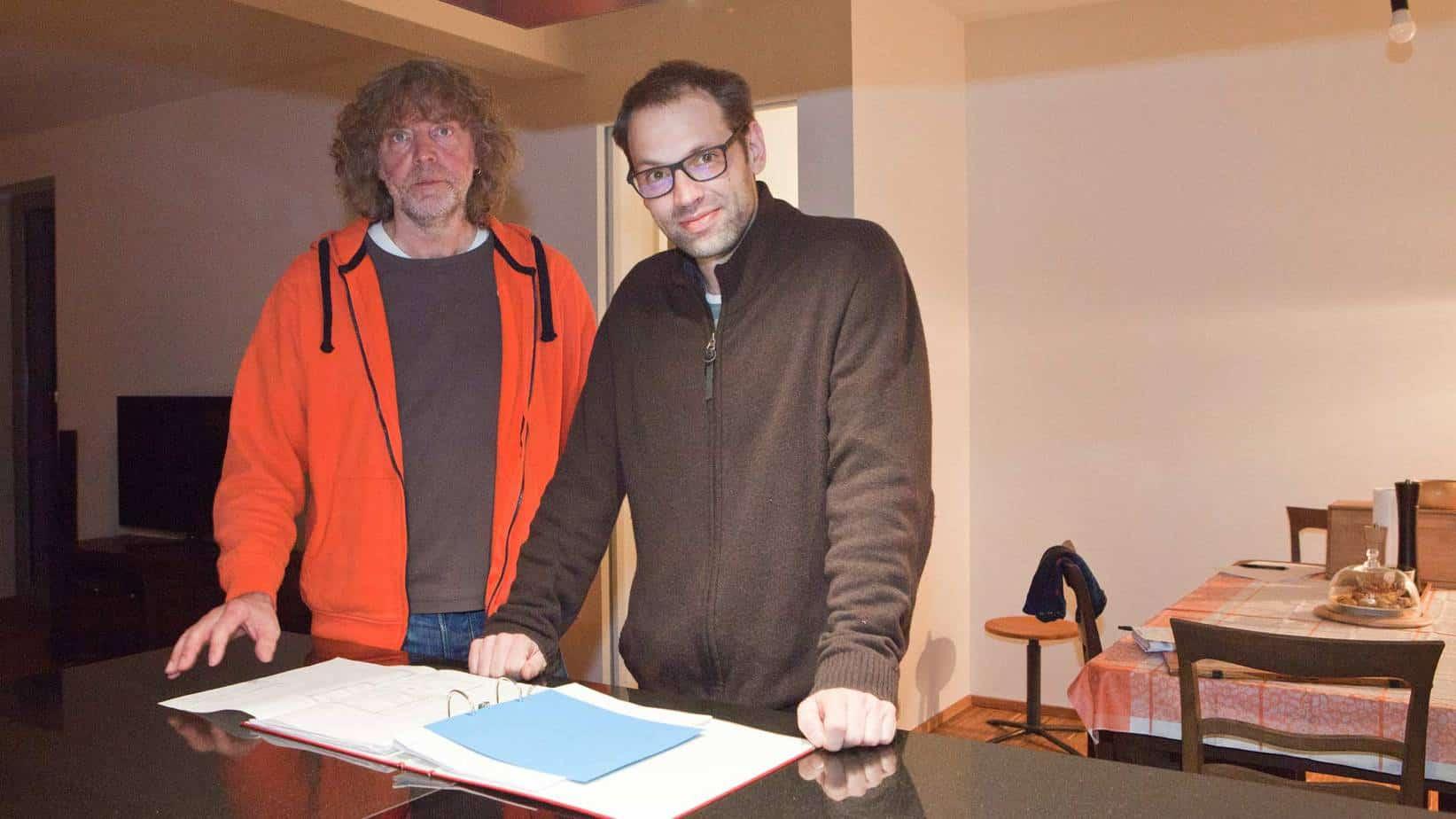 Ludger Rolfes und Axel Schnitger sind Ende Oktober nach Limmer in die Kesselstraße 9 eingezogen.