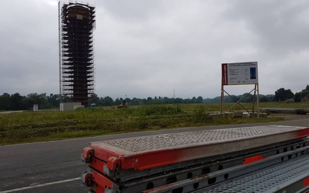 Erste Fortschritte auf der Baustelle