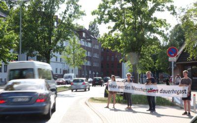 Protest für saubere Luft