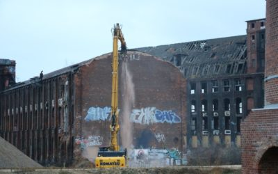 Werden jetzt alle Altgebäude abgerissen?
