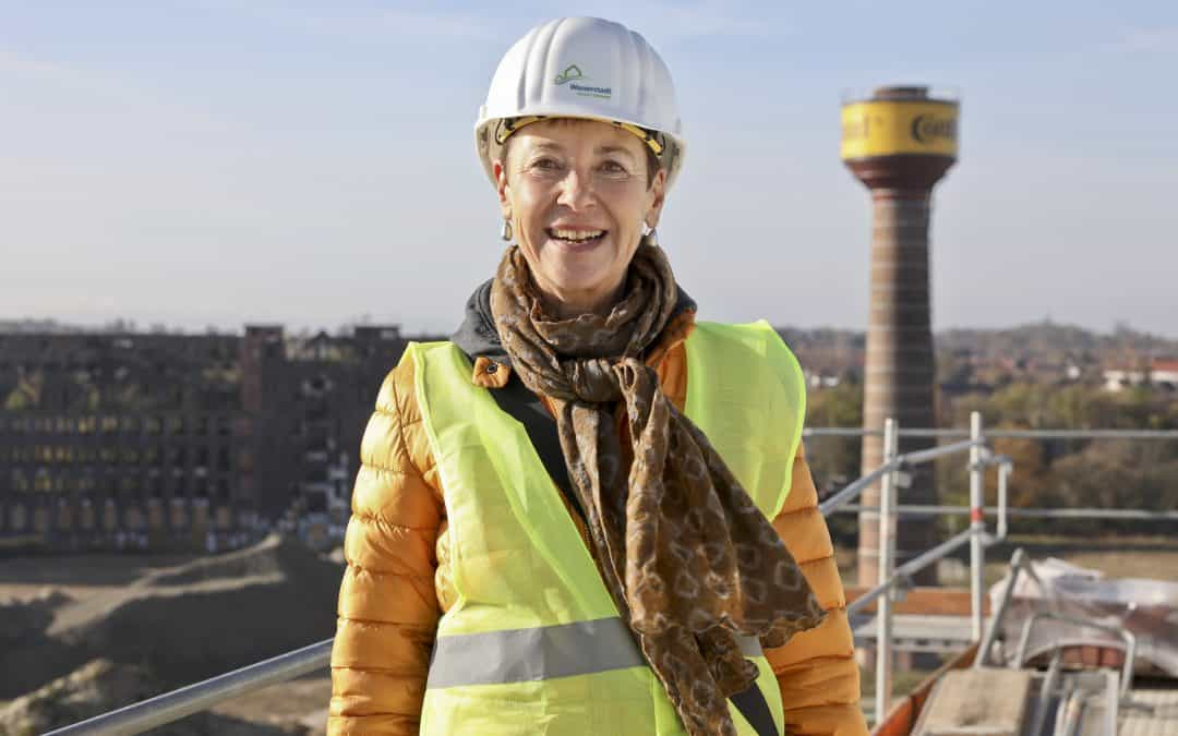 Warum Monika Neubacher-Fesser sich schon eine Wohnung in der Wasserstadt gekauft hat