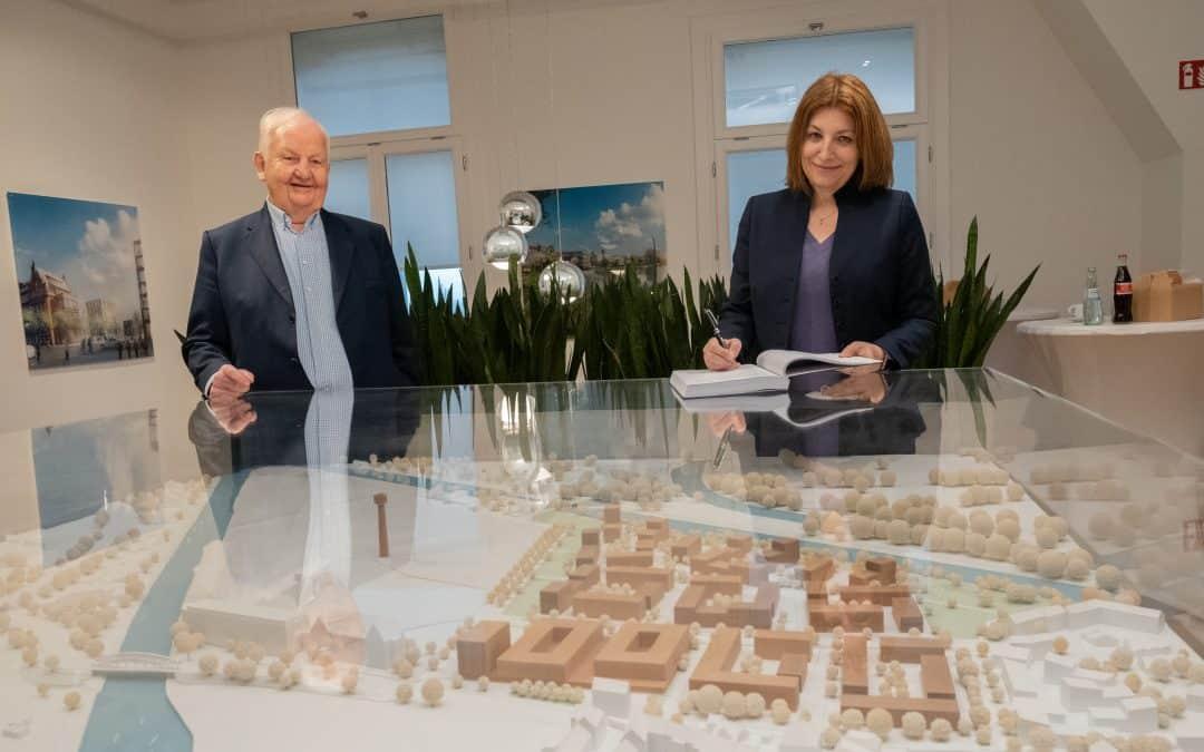 Enercity versorgt die Wasserstadt Hannover mit Wärme und Licht